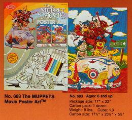 Avalon 1981 muppet movie poster art