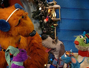 continuing from part one of the berry bear christmas special the entire gang now with jack goes out caroling - Bear Inthe Big Blue House A Berry Bear Christmas
