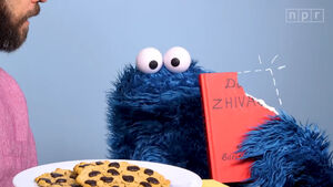 Cookie Monster Dr. Zhivago
