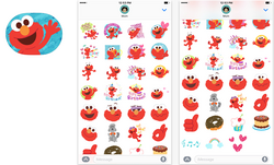 Elmo-Sticker-app
