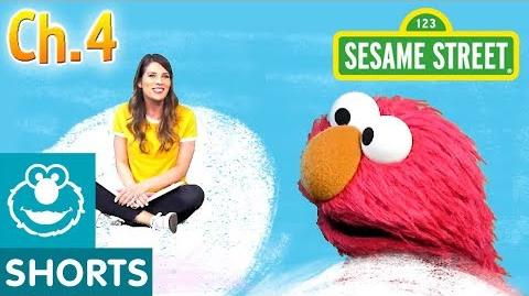 Elmo and Ms. Booksy Read Jack and the Beanstalk Part 4