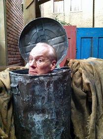 Tim Gunn - Oscar's trash can