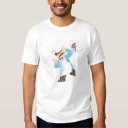 Zazzle swedish chef chicken shirt