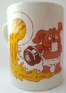 Kiln craft 1986 muppet babies rowlf mug 2