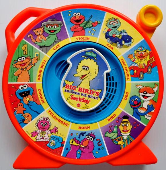 Mattel 1989 see n say big bird sounds we hear.jpg  sc 1 st  Muppet Wiki - Fandom & Image - Mattel 1989 see n say big bird sounds we hear.jpg   Muppet ...