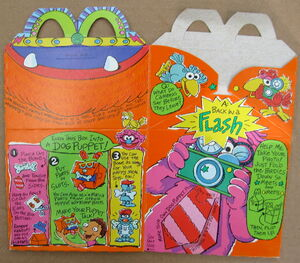 Mcdonalds 1994 muppet workshop happy meal box premium 6