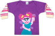 Morfs abby cadabby infant sock tee