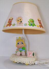 Nursery originals 1986 muppet babies piggy lamp 1