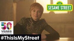 Sesame Street Memory Lena Headey ThisIsMyStreet