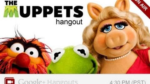 The Muppets Google Hangout