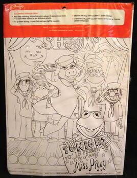 Avalon 1976 muppet show poster art crafts 2