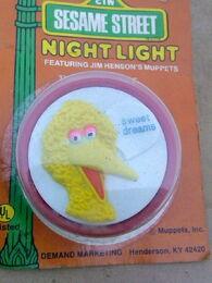 Demand marketing night light big bird