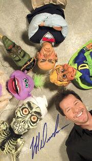 Jeff Dunham Puppets