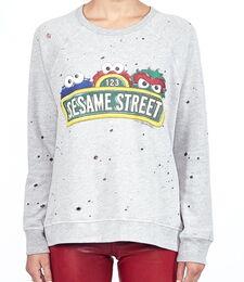 Lauren moshi darby sesame street sweatshirt