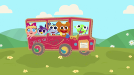Music Nursery Rhymes Wheels on the Bus