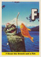 Sesamecard 026 Oscar fish
