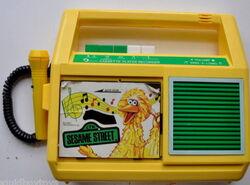 Daylin 1986 big bird cassette player 2