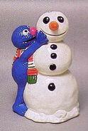 Grover snowman ornament newcor