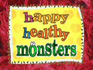 Happy Healthy Monsters titlecard