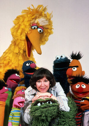 Joan Ganz Cooney and Muppets 70s