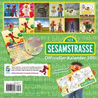 Sesamstrasse 2011 calendar b