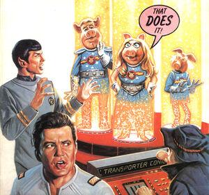 Star Trek--Pigs in Space