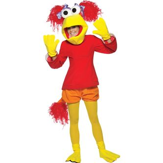 Fraggle-Rock-Red-Costume