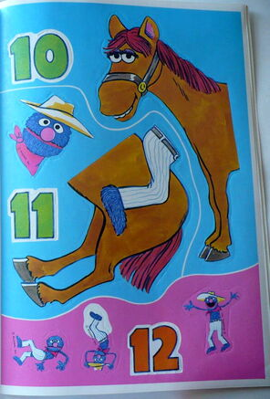 Grover sticker book 4