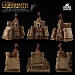 Labyrinth board game sculpt 08