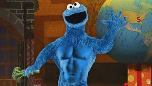 Cookie Monster diet Full Frontal