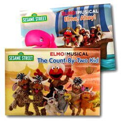 Elmo the musical board books