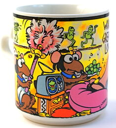 Enesco mug cleopatra 1983 c