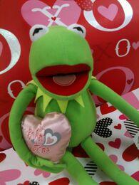 Just play 2013 valentine's kermit plush 2