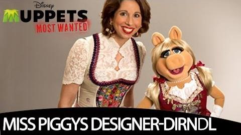 Miss Piggy trifft Dirndl-Designerin Lola Paltinger - MUPPETS MOST WANTED
