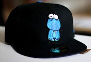 Sesame zombies new era cap cookie