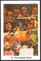 Sweden swap cards 73 muppet show