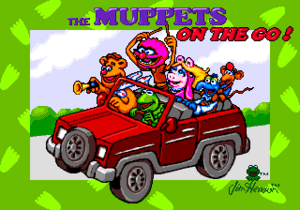 Sega Muppets on the Go title screen