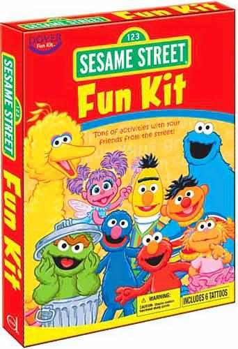 Sesame Street Fun Kit Muppet Wiki Fandom Powered By Wikia