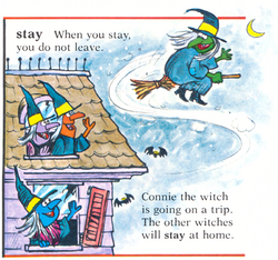 Dictionary witches stay