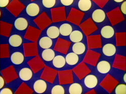 Dot Bridge 15 rotating pattern
