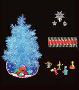 Kurt Adler blue tree