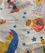Montgomery ward sheets space travel 1