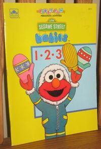 Sesame babies coloring book golden 1992