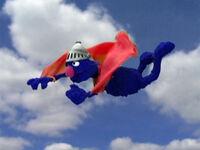 Supergrover-flying