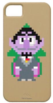 Zazzle count von count pixel art