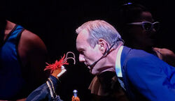 Anthony Head and Pepe