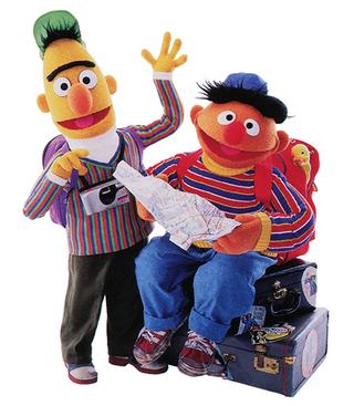 Bert and Ernie travel