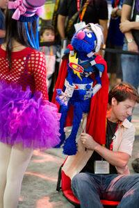 ComicCon2012 Super Grover 03a