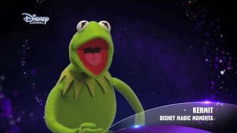 Disney Magic Moments - Kermit aus der Muppet Show - Peter Pan - DISNEY CHANNEL