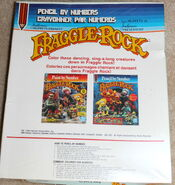 Hasbro fraggle pencil by numbers kit 3